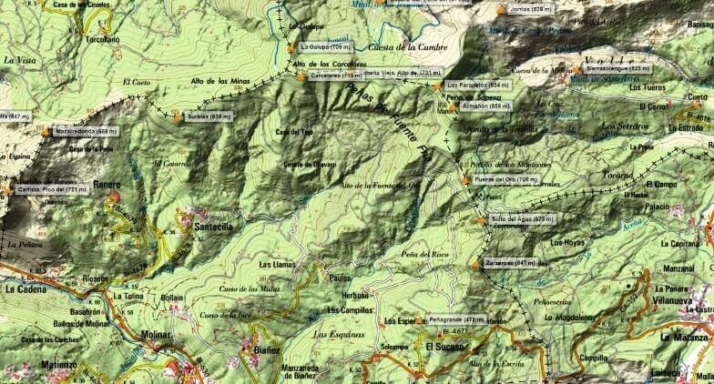 alrededores del Parque Natural de Armañon
